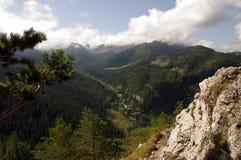 Vista de Nosal Tatra, Polônia Fotografia de Stock Royalty Free