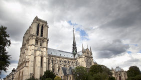 Vista de Notre Damme Imagens de Stock Royalty Free
