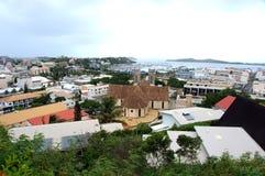 Vista de Noumea, Nova Caledônia fotografia de stock