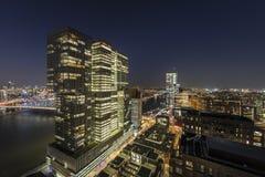 Vista de Nova Orleães que constrói Rotterdam foto de stock