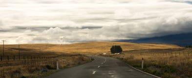 Vista de Nueva Zelanda Fotos de archivo