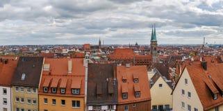 Vista de Nuremberg, Alemania fotos de archivo libres de regalías