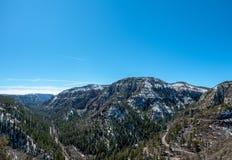 Vista de Oak Creek fotografia de stock royalty free