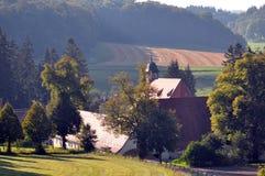Vista de Offenhausen Imagen de archivo