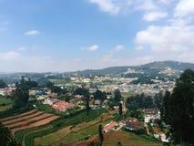 Vista de Ooty - estação do monte Imagens de Stock Royalty Free