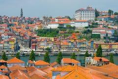 Vista de Oporto Fotografía de archivo