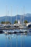 Vista de Oporto Montenegro Imagen de archivo