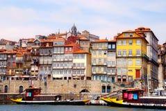 Vista de Oporto, Portugal Imagenes de archivo