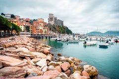 Vista de Oporto Venere Fotografía de archivo libre de regalías