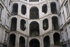 Vista de Palazzo Sanfelice imagen de archivo libre de regalías