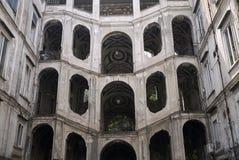 Vista de Palazzo Sanfelice fotografía de archivo
