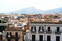 Vista de Palermo Imágenes de archivo libres de regalías