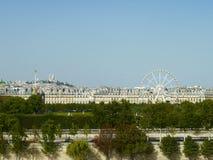 Vista de París Imagen de archivo