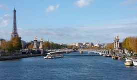 Vista de París Fotos de archivo libres de regalías