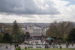 Vista de París Foto de archivo