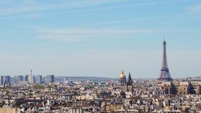Vista de París Fotos de archivo