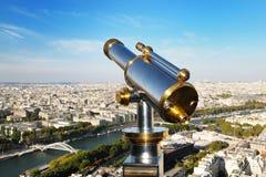 Vista de París de la torre Eiffel Imagen de archivo