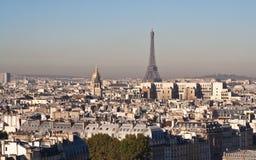 Vista de París. Francia Fotografía de archivo