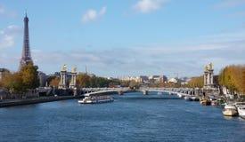 Vista de Paris Fotos de Stock Royalty Free