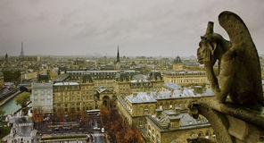 Vista de Paris fotos de stock