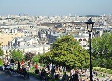 Vista de Paris Imagens de Stock