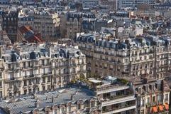 Vista de Paris de acima Imagem de Stock
