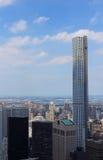 Vista de 432 Park Avenue Fotografia de Stock Royalty Free