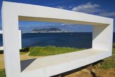 Vista de Parque de Centenario a Gibraltar Fotografia de Stock