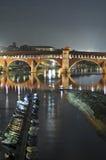 Vista de Pavia imagens de stock