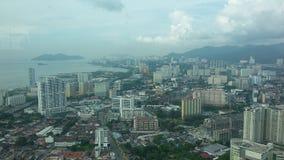 Vista de Penang 2 fotografia de stock royalty free