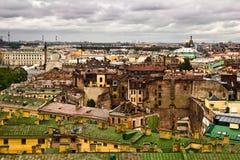 Vista de Petersburgo Fotografía de archivo libre de regalías