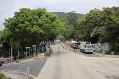 vista de Po Lam Rd no tko Foto de Stock