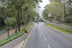 vista de Po Lam Rd no tko Fotos de Stock Royalty Free