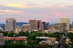 Vista de Portland imagem de stock royalty free