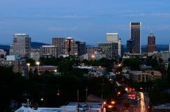 Vista de Portland fotografia de stock royalty free