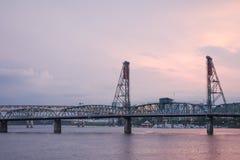Vista de Portland Fotografía de archivo