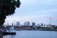 Vista de Portland Imágenes de archivo libres de regalías