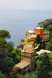 Vista de Portofino imagem de stock