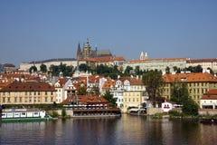 Vista de Praga Foto de archivo libre de regalías