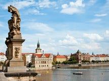 Vista de Praga Fotografía de archivo libre de regalías