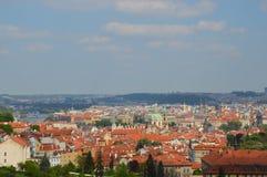 Vista de Praga Foto de Stock