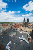 Vista de Praga Imagen de archivo libre de regalías
