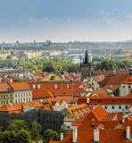 Vista de Praga Fotografía de archivo