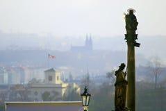 Vista de Praga Foto de Stock Royalty Free