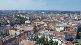 Vista de Praga Foto de archivo