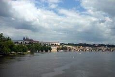 Vista de Praga, república checa Imagem de Stock