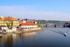 Vista de Praga velha Imagem de Stock