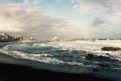 Vista de Puerto Duquesa Fotos de archivo libres de regalías