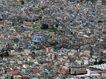 Vista de Quito, Ecuador imagen de archivo libre de regalías