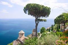 Vista de Ravello Fotos de Stock Royalty Free